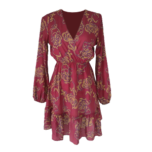 Dress Bordeaux frivole